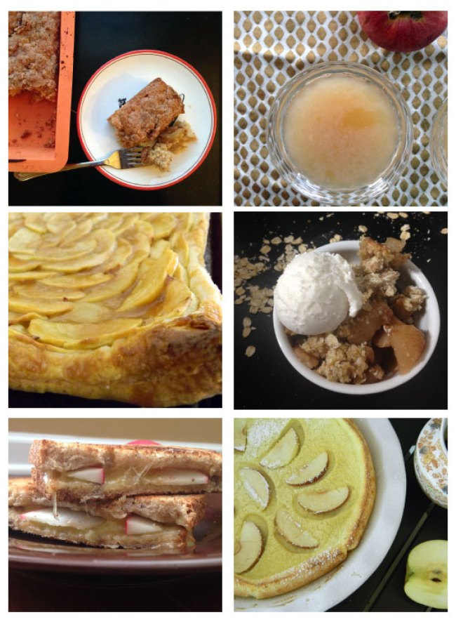 6 apple recipes