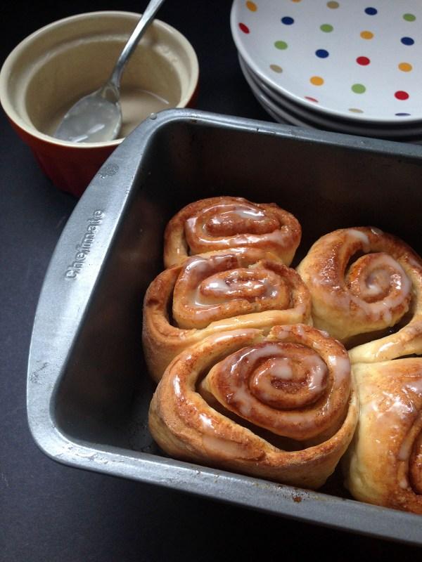 pizza dough cinnamon rolls