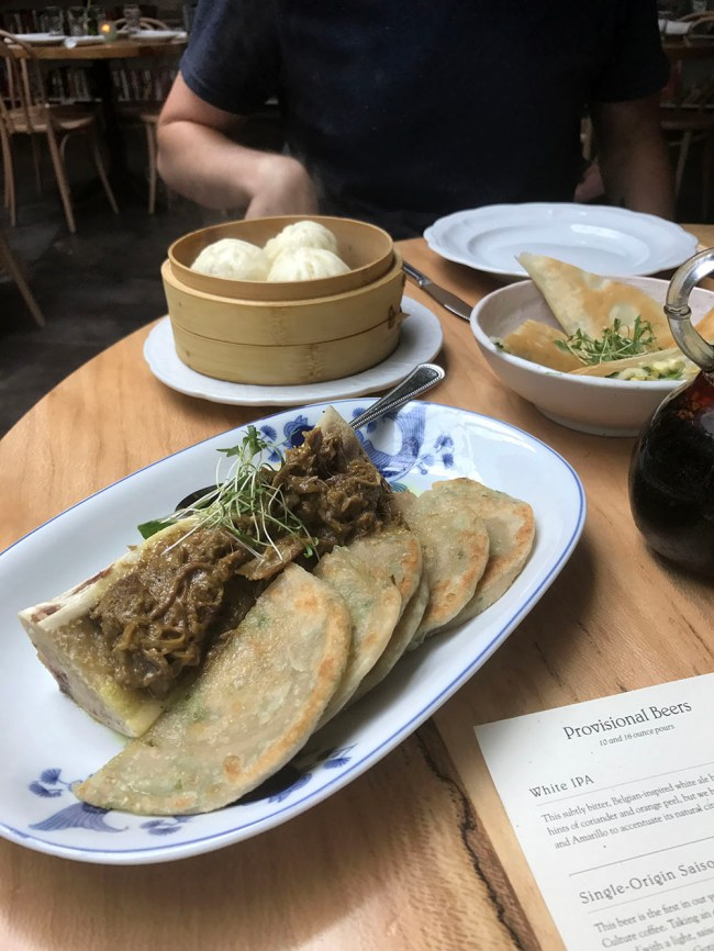 brewery bhavana scallion pancakes