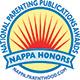 National Parenting Publications Awards (NAPPA), Honors Award