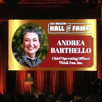 Andrea Barthello Toy Industry Hall of Fame