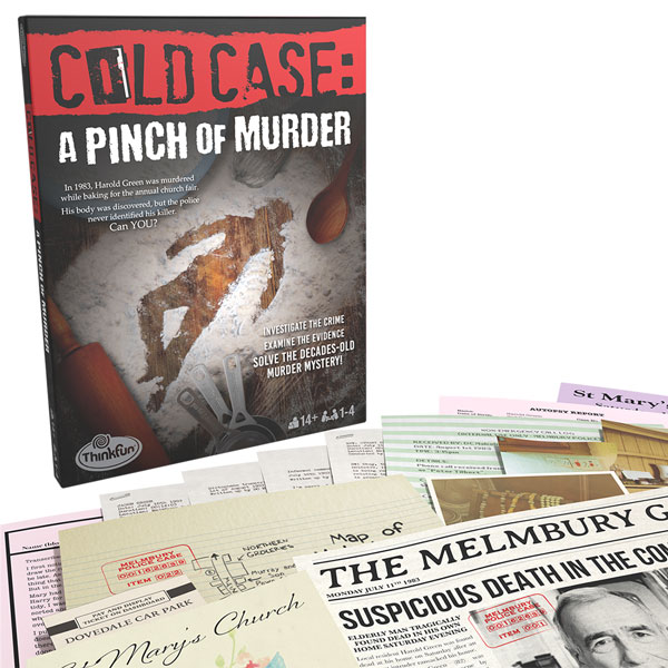 Box art for Cold Case: A Pinch of Murder