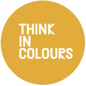 Think In Colours Logo Gelb
