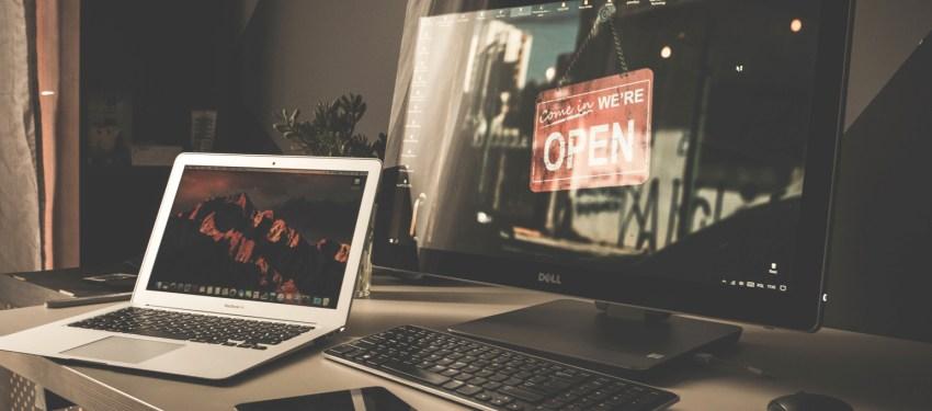 website voor online bedrijf opzetten