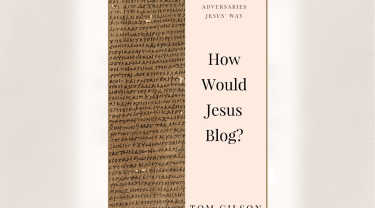"""Cover: """"How Would Jesus Blog?"""""""