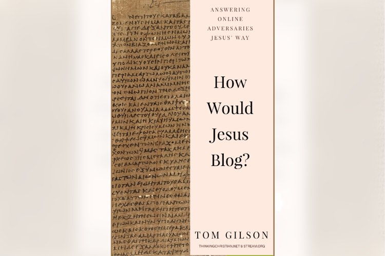"Cover: ""How Would Jesus Blog?"""