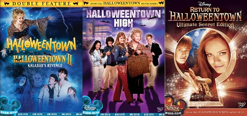 halloweentown new dvd all 4 s
