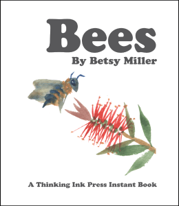 Bees cover, art by Keiko O'Leary