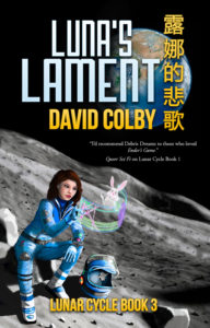 Book cover: Luna's Lament by David Colby