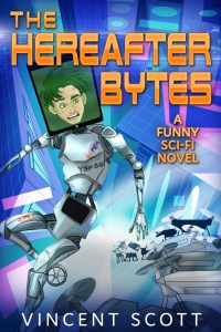 The Hereafter Bytes book cover