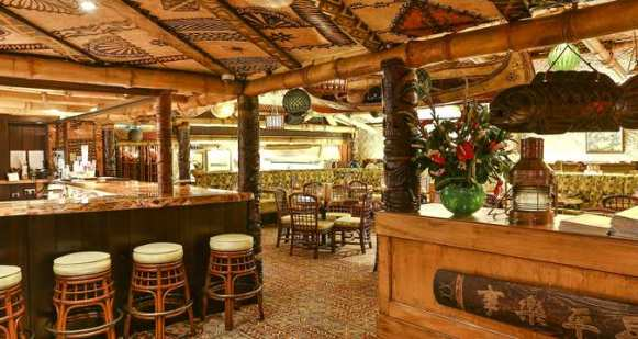 Trader Vic's Restaurant, Bar