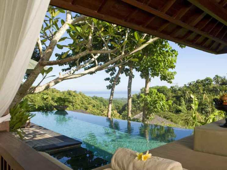 Pool Villa at The Damai in Bali, Indonesia.