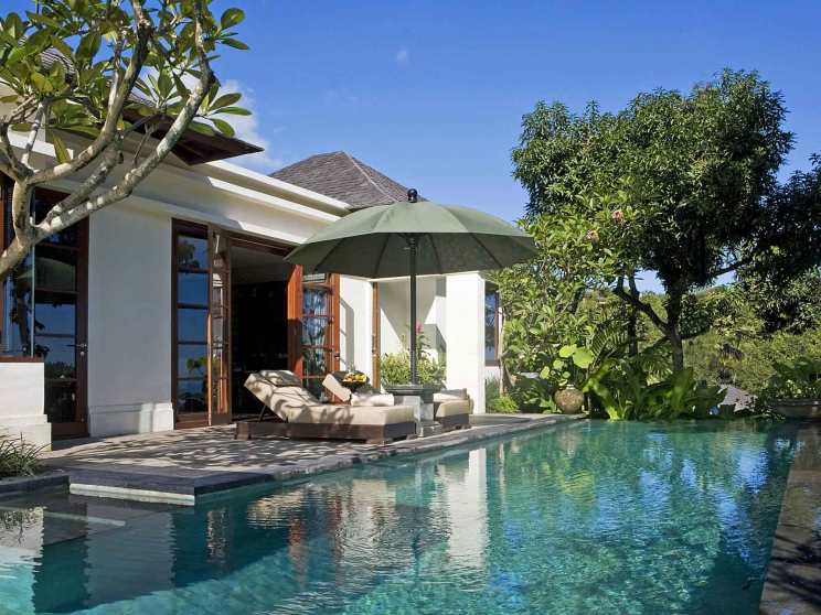 This is Villa 5 at The Damai, Bali.