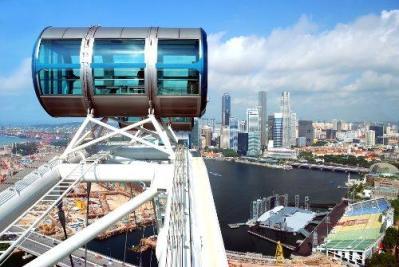 Singapore Flyer - enjoy the view!