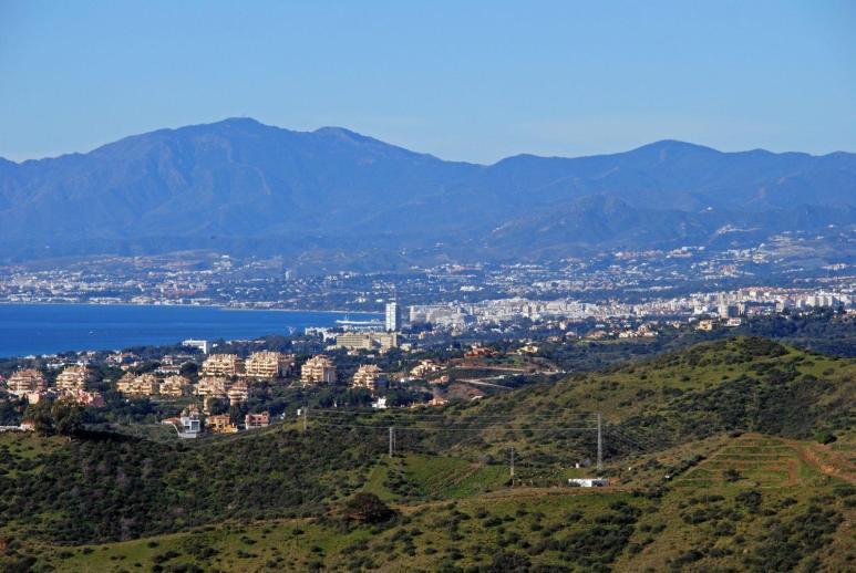 View along Marbella coastline, Spain © Arena Photo UK