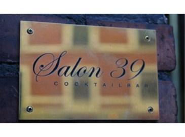 Salon 39 Bar & Restaurant in Fredriksberg, Copenhagen, Denmark.