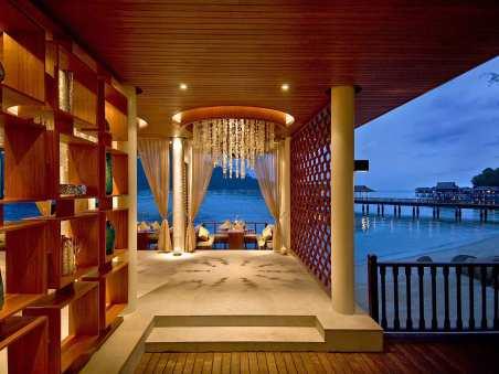 The Straits Restaurant at Pangkor Laut Resort, Malaysia.