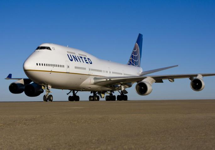 United Airlines Boeing 747. Photo courtesy of United Airlines.