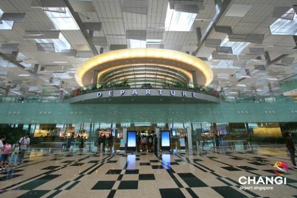 Terminal 3 at Singapore Changi Airport.