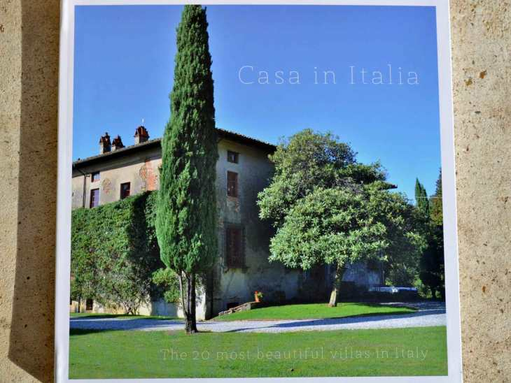 "The book ""20 Most Beautiful Villas in Italy""."