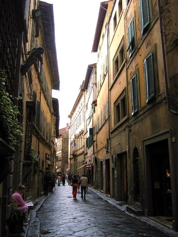 The streets of Cortona.
