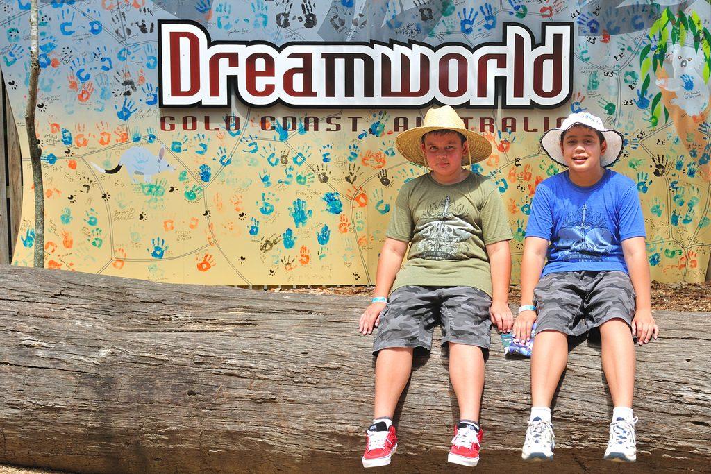 Dreamworld in Queensland, Australia.