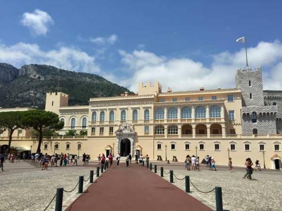 Le Palais De Princes in Monaco Old Town.