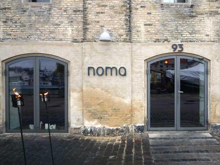 Noma Copenhagen entrance.