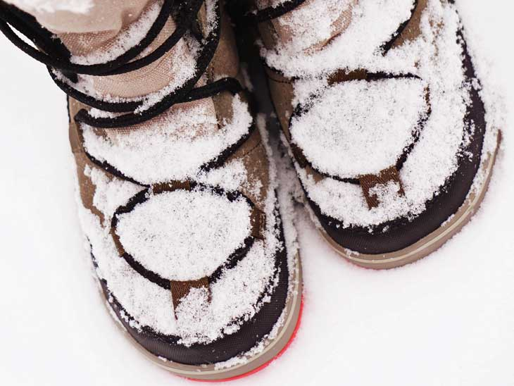 Nice and comfortable winter boots.
