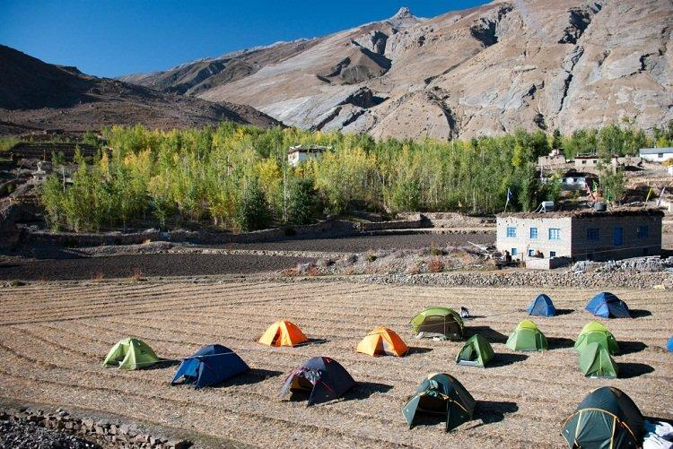 Spiti Valley Camping