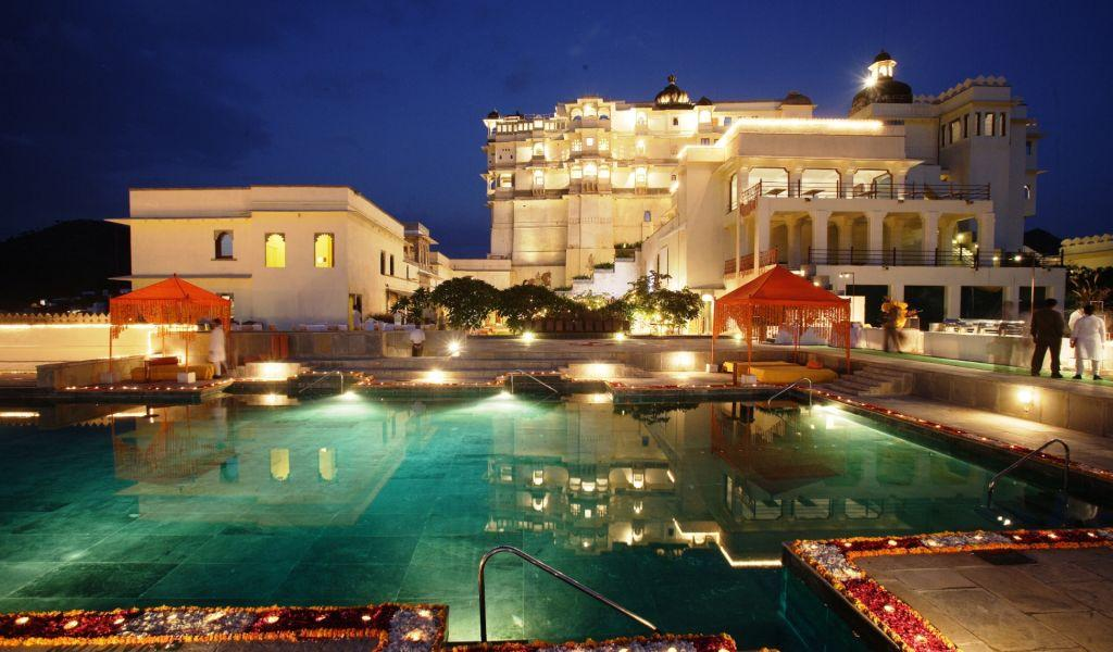 Devi Garh Fort Palace in Udaipur.