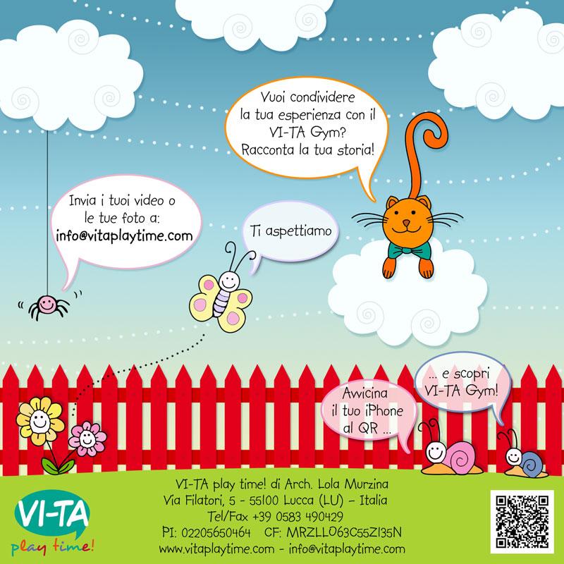 pagina finale della brochure interattiva della palestra