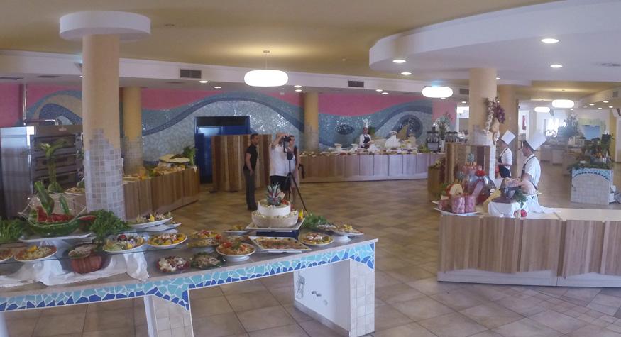 bluserena sibari green village buffet