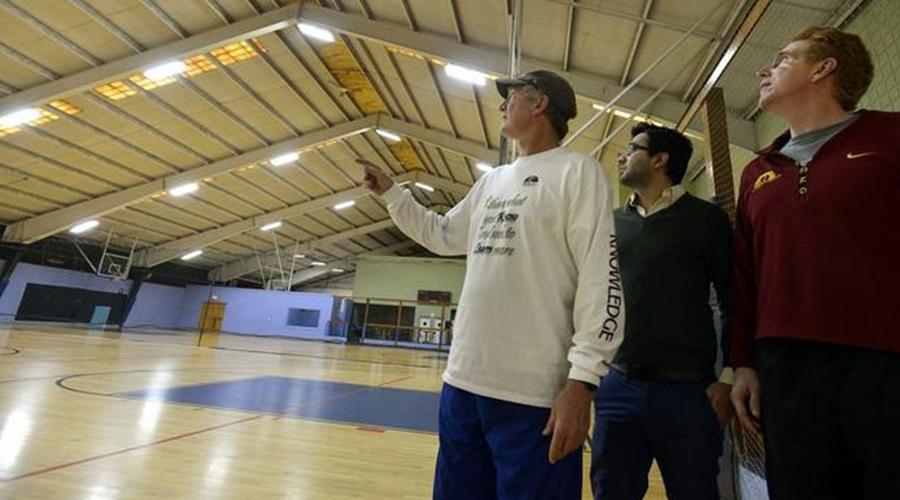 LED Tubes for Basketball Court