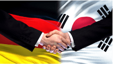 Germany and South Korea