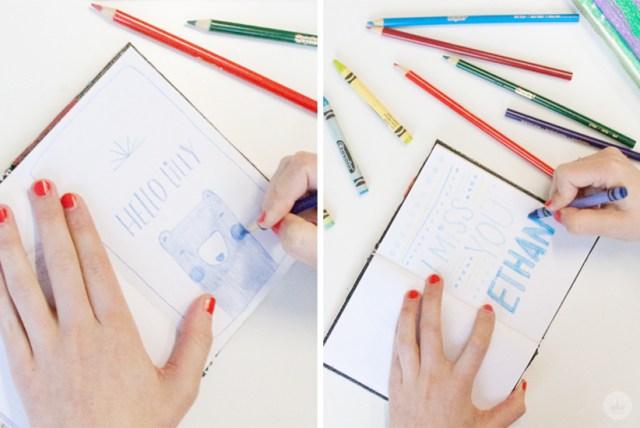 Sketchbooks across the miles | thinkmakeshareblog.com