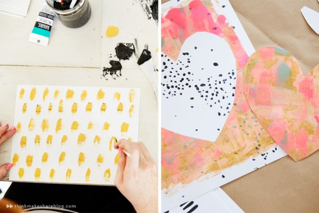 Ashley Goldberg leads a workshop for Hallmark Cards artists