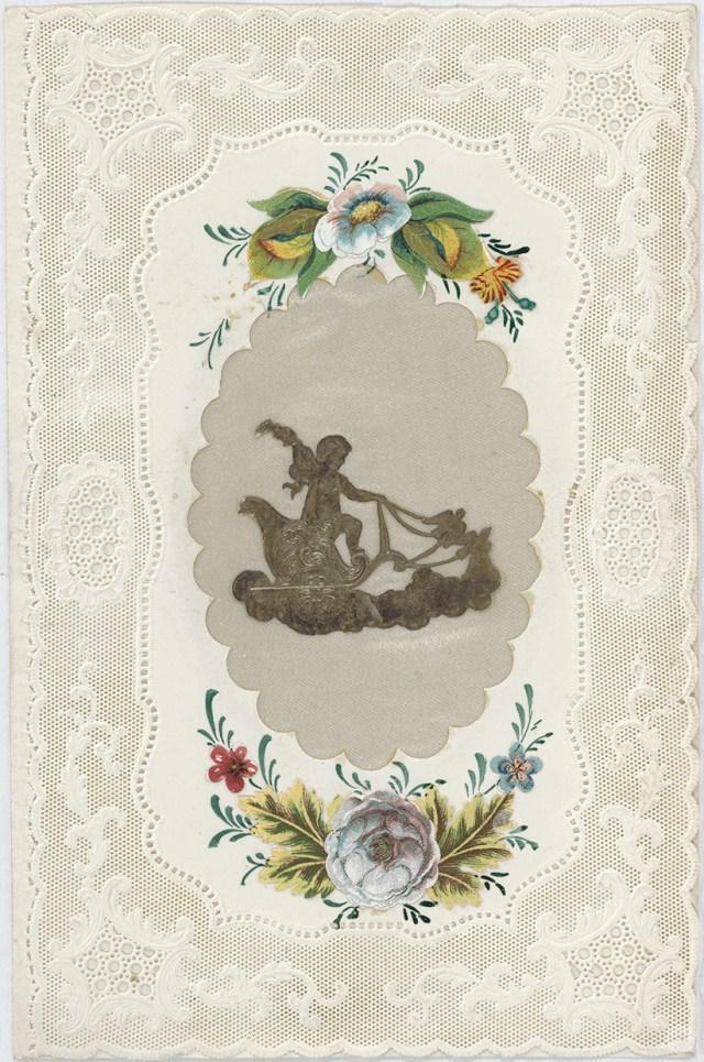 Original valentine designed by Esther Howland.
