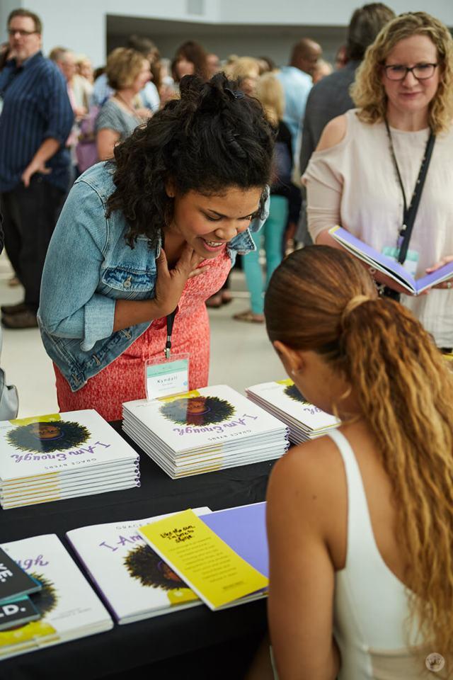 2018 Creative Leadership Symposium Grace Byers book signing   thinkmakeshareblog.com