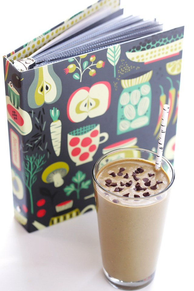 Chocolate Peanut Butter Green Smoothie 9