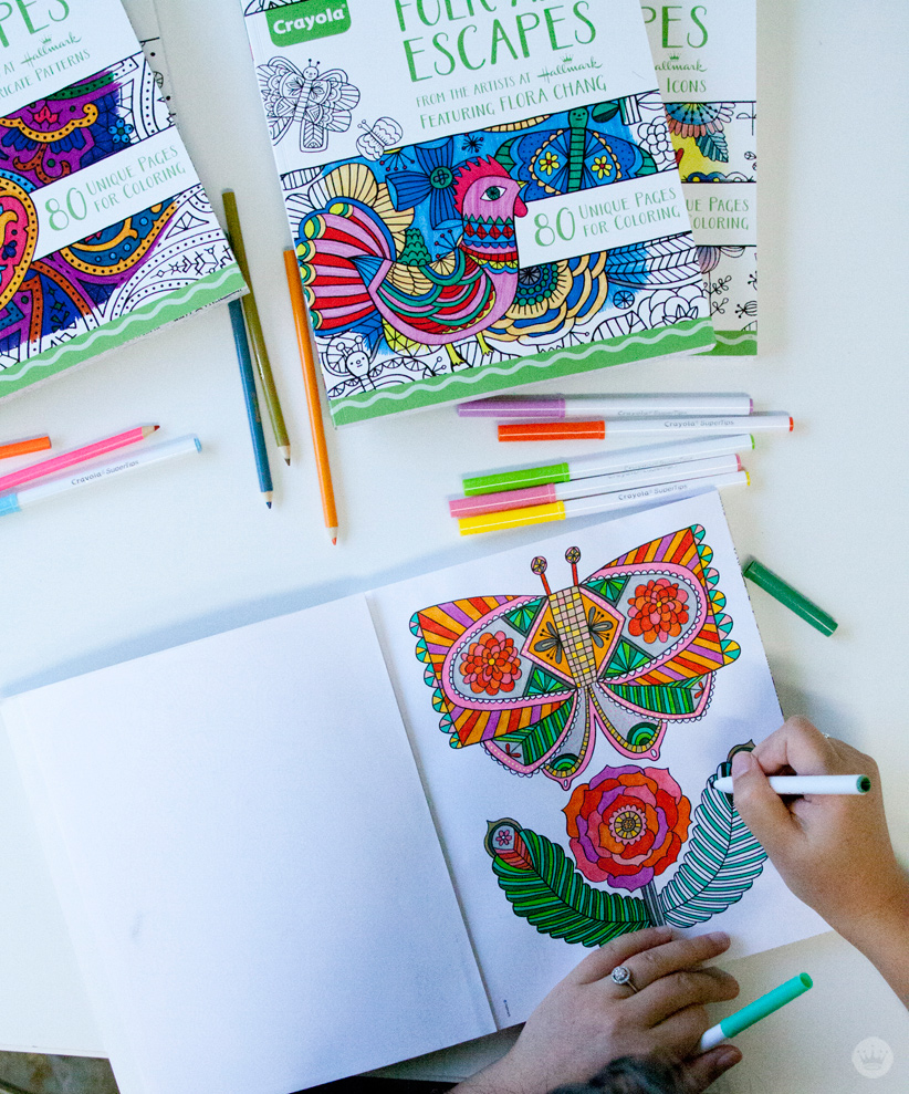Four new coloring books from Hallmark and Crayola - Think.Make.Share.