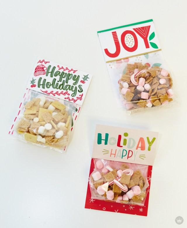DIY Holiday Treat Presenters | thinkmakeshareblog.com