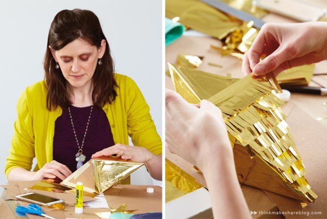 DIY Summer Pinatas | Fractile | thinkmakeshareblog.com