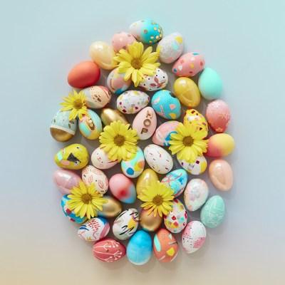 Easter Egg Workshop | thinkmakeshareblog.com