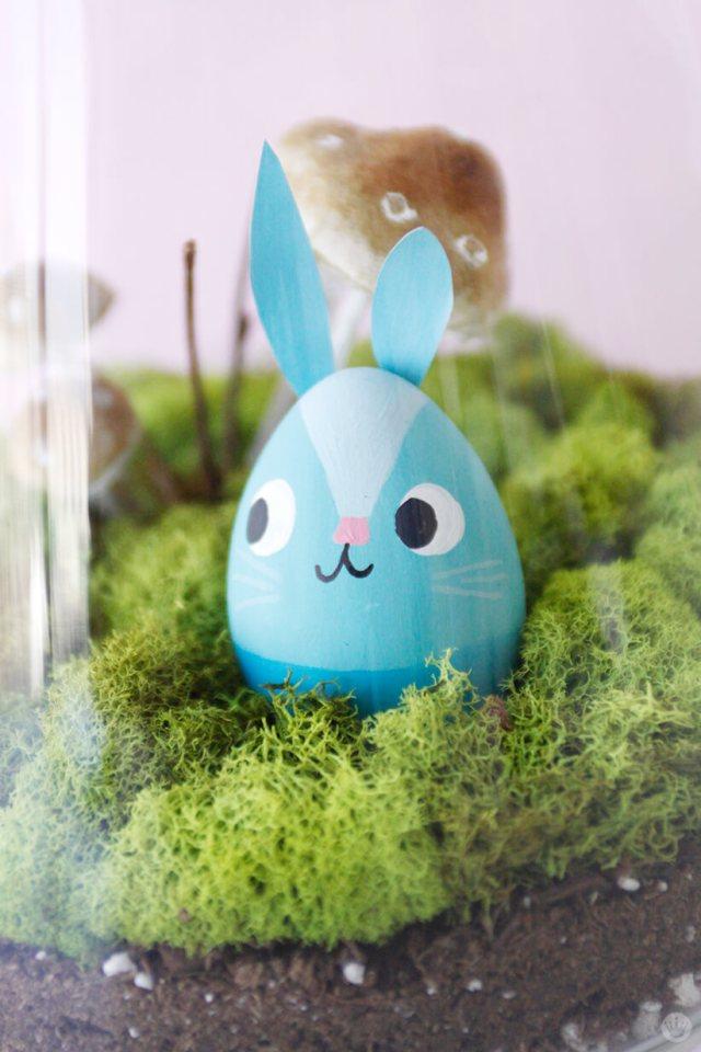Easter Terrarium | thinkmakeshareblog.com