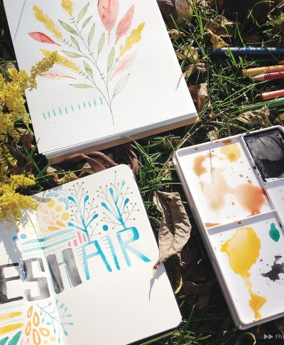 Hallmark artist Livy Long gets fresh air on a farm retreat | thinkmakeshareblog.com