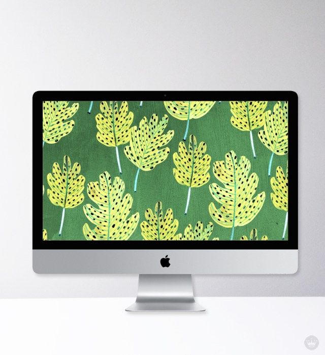 Fall-inspired wallpapers from Hallmark artists | thinkmakeshareblog.com