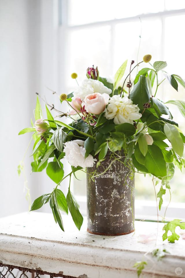 Andy Newcom Floral Arrangements | thinkmakeshareblog.com