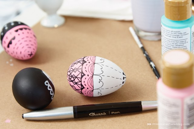 Hallmark artists decorate Easter eggs