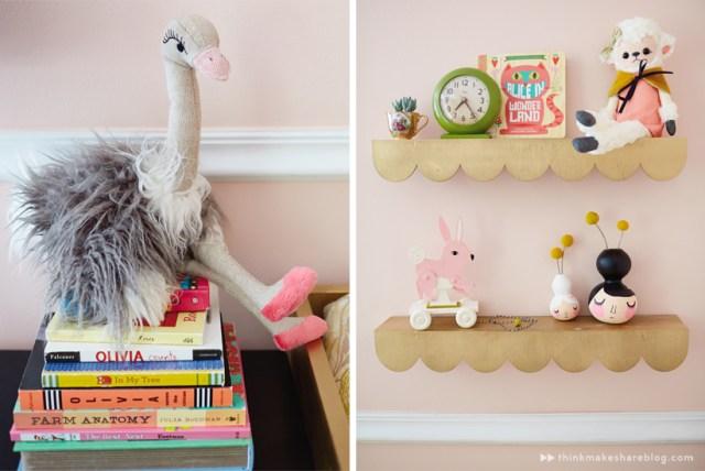 Hallmark designer Tuesday Spray shares her daughter's nursery   thinkmakeshareblog.com